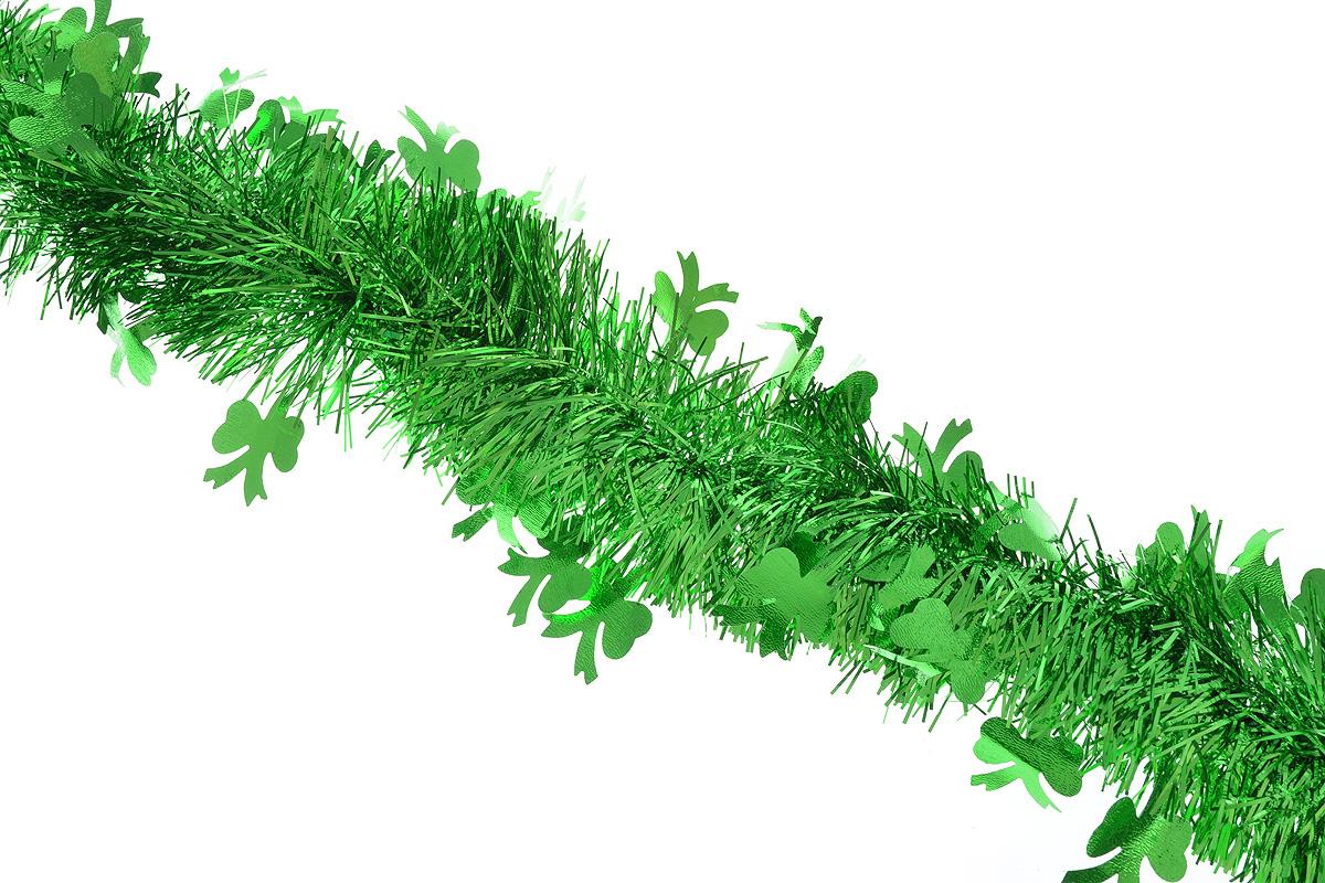 Мишура новогодняя Sima-land, цвет: зеленый, диаметр 9 см, длина 200 см. 706598706598_зеленыйПушистая новогодняя мишура Sima-land, выполненная из фольги, поможет вам украсить свой дом к предстоящим праздникам. А новогодняя елка с таким украшением станет еще наряднее. Мишура армирована, то есть имеет проволоку внутри и способна сохранять придаваемую ей форму. По всей длине изделие украшено фигурками из фольги в виде бантиков. Новогодней мишурой можно украсить все, что угодно - елку, квартиру, дачу, офис - как внутри, так и снаружи. Можно сложить новогодние поздравления, буквы и цифры, мишурой можно украсить и дополнить гирлянды, можно выделить дверные колонны, оплести дверные проемы.