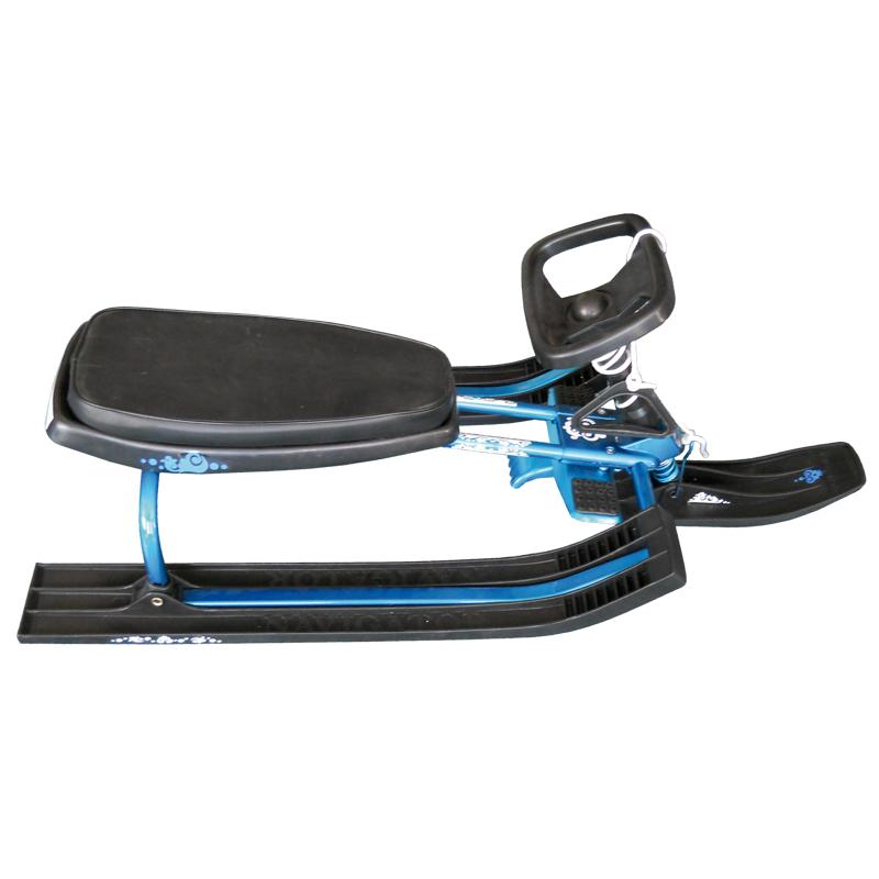 Снегокат «Навигатор» (чёрно-бирюзовый)СН91036Снегокат для любителей зимних спортивных развлечений.