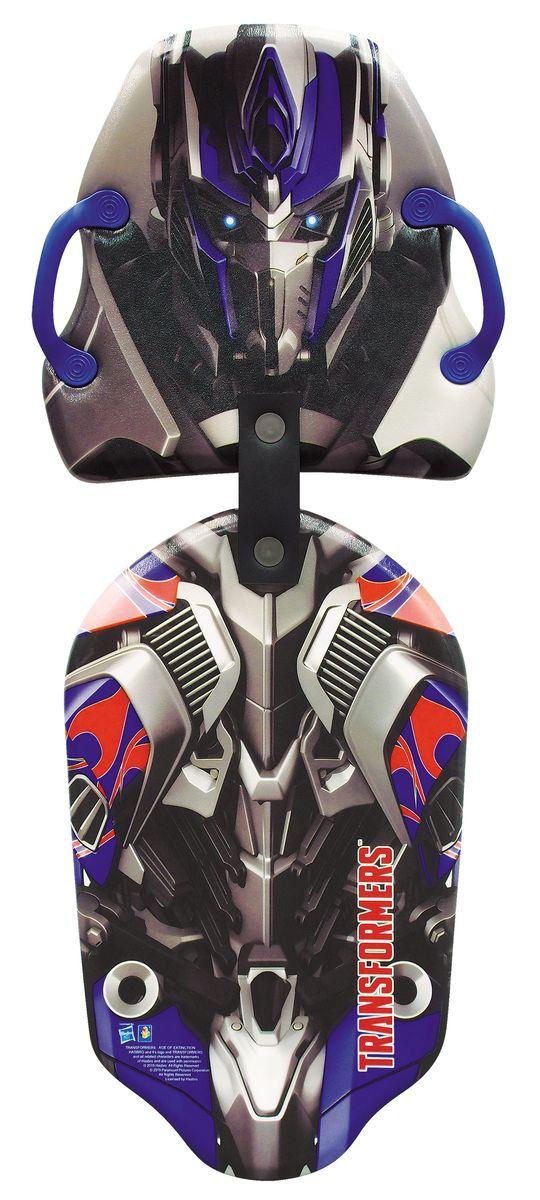 1toy Transformers Ледянка двойная Transformers 119 смТ56911Ледянка Transformers станет прекрасным подарком для поклонников популярного фильма. Изделие предназначено катания с горок и идеально подойдет для мальчиков. Ледянка развивает на спуске хорошую скорость. Модель с 2 парами прорезей для рук.
