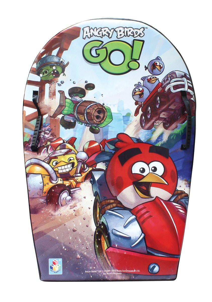 Ледянка с плотными ручками 74см, Angry birdsТ57215Ледянка Angry Birds станет прекрасным подарком для поклонников популярной игры. Изделие предназначено катания с горок и идеально подойдет как для мальчиков, так и для девочек. Ледянка развивает на спуске хорошую скорость. Плотные ручки, расположенные по краям изделия помогут не упасть.