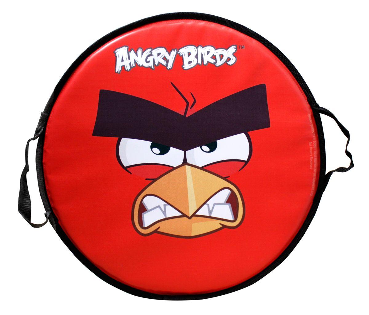Ледянка круглая 52см, Angry birdsТ58162Ледянка Angry birds станет прекрасным подарком для поклонников известной игры. Изделие предназначено катания с горок и идеально подойдет как для мальчиков, так и для девочек. Ледянка развивает на спуске хорошую скорость. Плотные ручки, расположенные по краям изделия помогут не упасть.