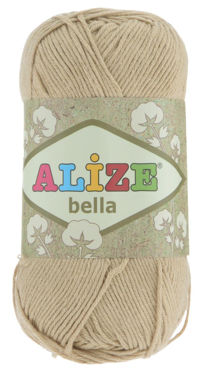 Пряжа для вязания Alize Bella, цвет: бежевый (76), 180 м, 50 г, 5 шт364124_76Мягкая хлопковая пряжа Alize Bella просто идеальна для вязания вещей малышам и людям с чувствительной кожей. Нить не вызывает аллергии и очень приятна на ощупь. Изделия из такой нити получаются мягкие и красивые. Рекомендуемый размер спиц 2-4 мм и крючка 1-3 мм.