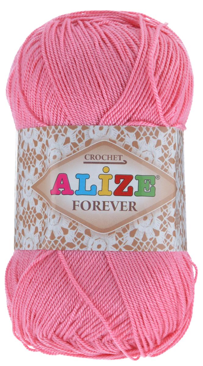 Пряжа для вязания Alize Forever, цвет: розовый (39), 300 м, 50 г, 5 шт367022_39Пряжа Alize Forever - это тщательно обработанная акриловая пряжа, которая приобретает вид мерсеризованной нити. Классическая пряжа, прочная, мягкая и шелковистая. Большое разнообразие цветов и оттенков от спокойных до ярких позволяет подобрать пряжу для вязания на любой вкус. Предназначена для вязания летних и весенних вещей и прекрасно подойдет как для спиц, так и для крючка. Изделия получаются очень красивыми и нарядными и при этом комфортными в носке. Рекомендованные спицы: 2-3,5 мм. Рекомендованный крючок: 0,75-1,5 мм. Состав: 100% акрил. Количество мотков: 5 шт.