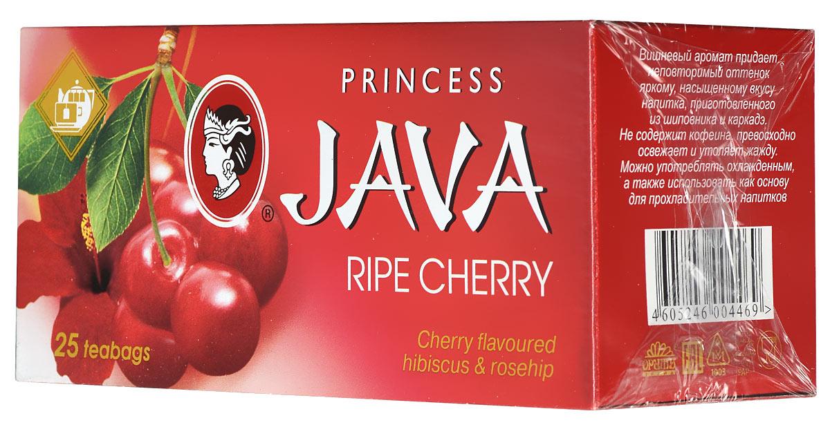 Принцесса Ява Спелая вишня черный чай в пакетиках, 25 шт ( 0446-42 )