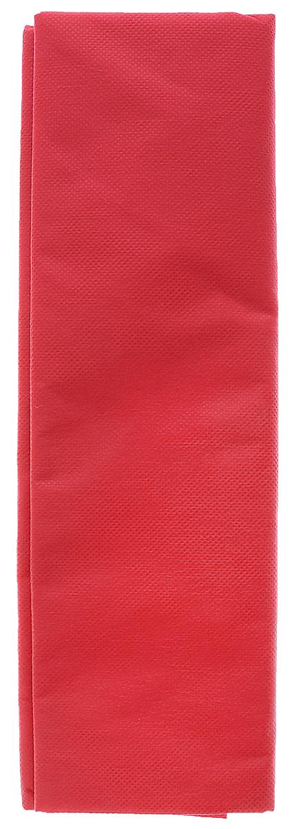 Скатерть Boyscout, прямоугольная, цвет: красный, 140 x 110 см61709_красныйПрямоугольная одноразовая скатерть Boyscout выполнена из нетканого полимерного материала типа спанбонд и предназначена для применения в домашнем хозяйстве, на пикнике, на даче, в туризме. Такая салфетка добавит ярких красок любому мероприятию. Состав: полипропилен, краситель.