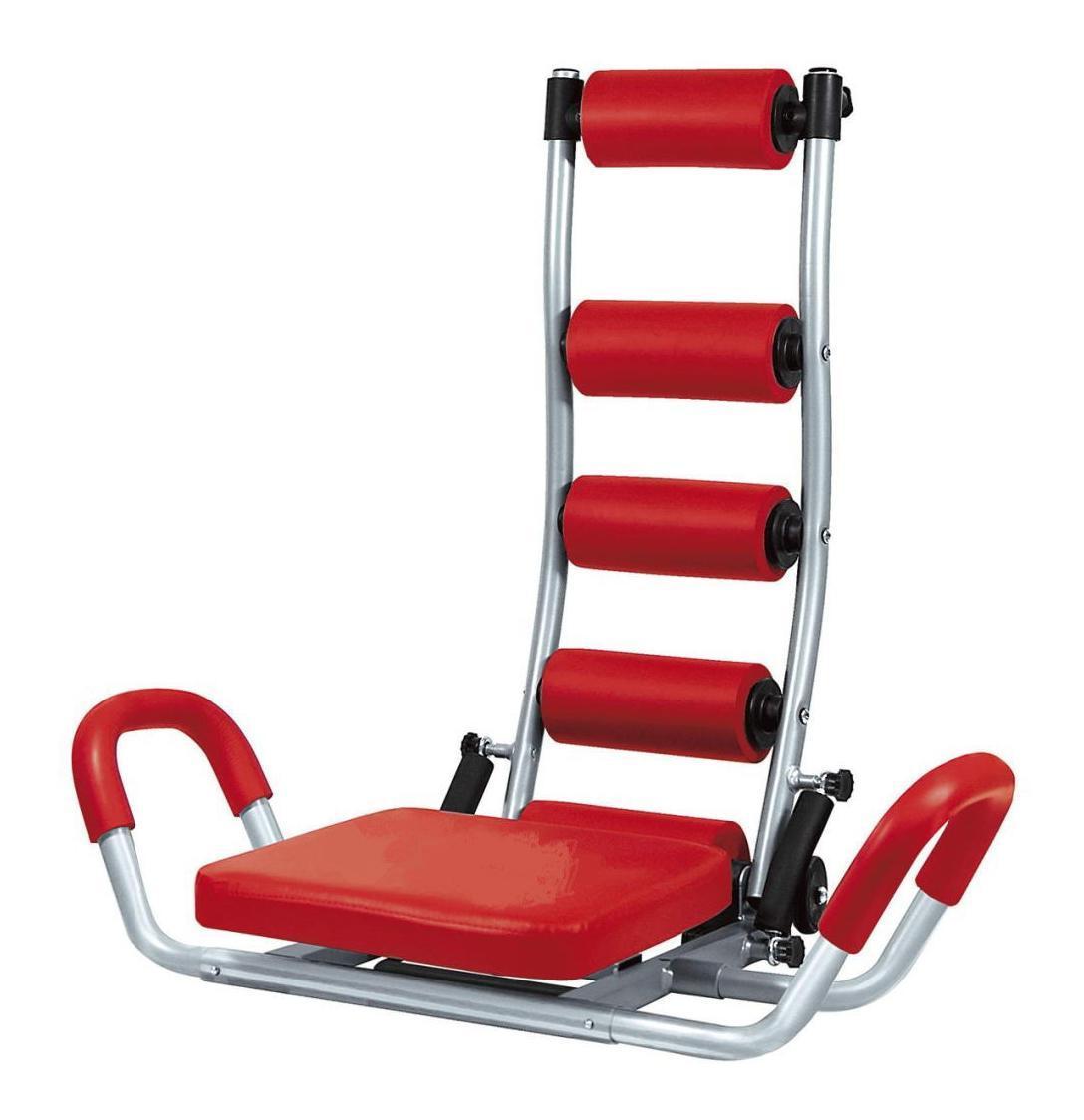 Тренажер для мышц живота Bradex Супер прессSF 0041Тренажер Bradex Супер пресс отлично приводит в тонус брюшные мышцы, прорабатывая верхний, нижний и средний пресс, а также задействует косые мышцы живота. Также тренируются мышцы спины и ягодиц, а благодаря комплексной нагрузке происходит уменьшение объемов тела. Расположенные на тренажере валики мягко массируют голову, шею и спину, улучшая циркуляцию крови в тканях, что способствует хорошему самочувствию. Усовершенствованная система сиденья позволяет эффективно тренировать мышцы бедер. Тренажер Супер пресс мягко контролирует процесс тренировки: когда вы отклоняетесь назад, специальные пружины создают противодействие в спинке тренажера, защищая от падения, а при подъеме туловища в исходную позицию они мягко подталкивают его вперед. Тренажер имеет три уровня сопротивления. Удобная конструкция тренажера позволяет располагать его на небольшом участке пространства, тренажер легко складывается для компактного и удобного хранения. Комплект включает тренажер в...