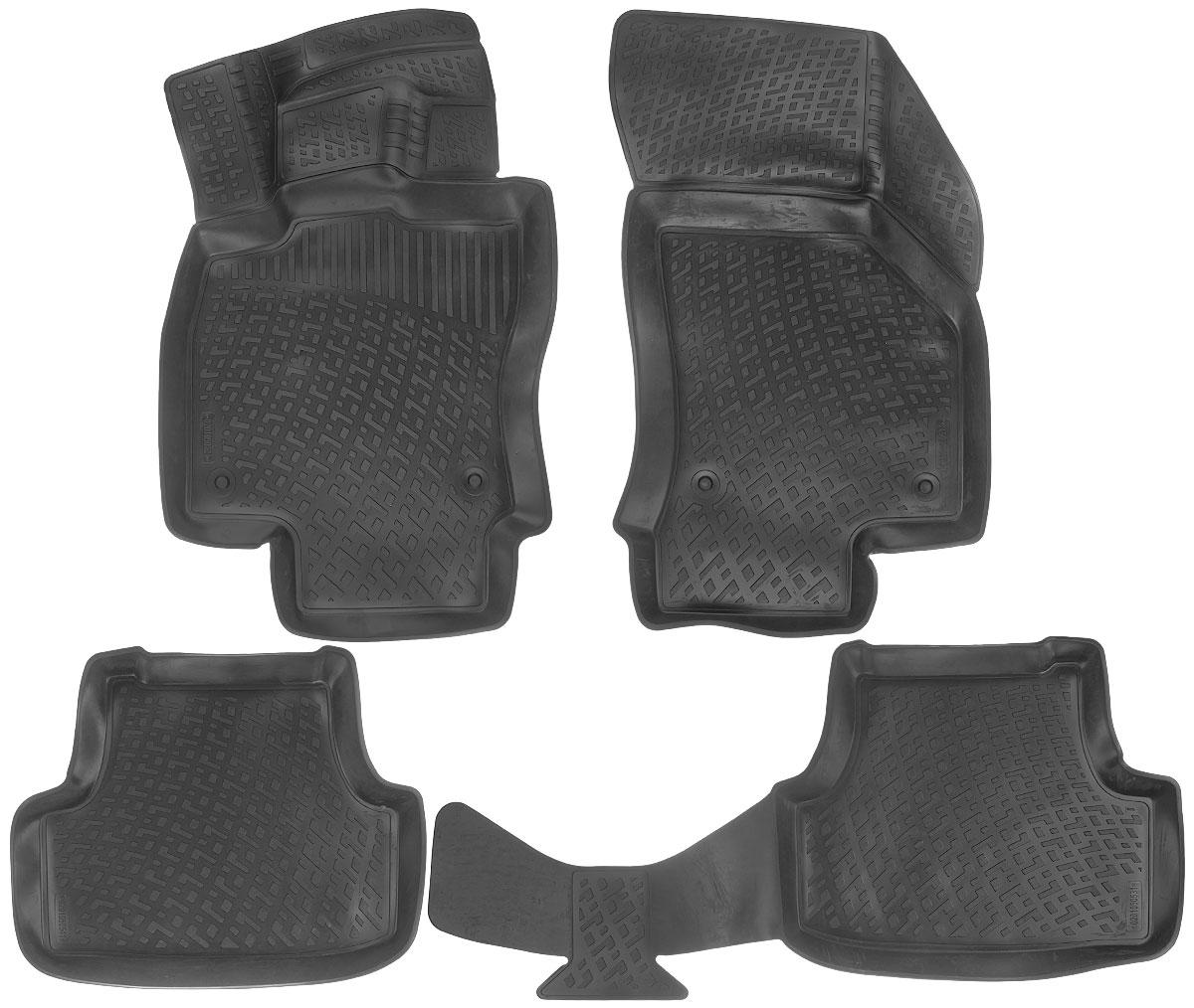Набор автомобильных ковриков L.Locker Volkswagen Golf (7) 2012, в салон, 4 шт0201050501Набор L.Locker Volkswagen Golf (7) 2012, изготовленный из полиуретана, состоит из 4 ковриков, которые производятся индивидуально для каждой модели автомобиля. Изделие точно повторяет геометрию пола автомобиля, имеет высокий борт, обладает повышенной износоустойчивостью, лишено резкого запаха и сохраняет свои потребительские свойства в широком диапазоне температур от -50°С до +80°С. Комплектация: 4 шт. Размер ковриков: 87 см х 53 см; 57 см х 46 см; 104 см х 47 см; 84 см х 50 см.