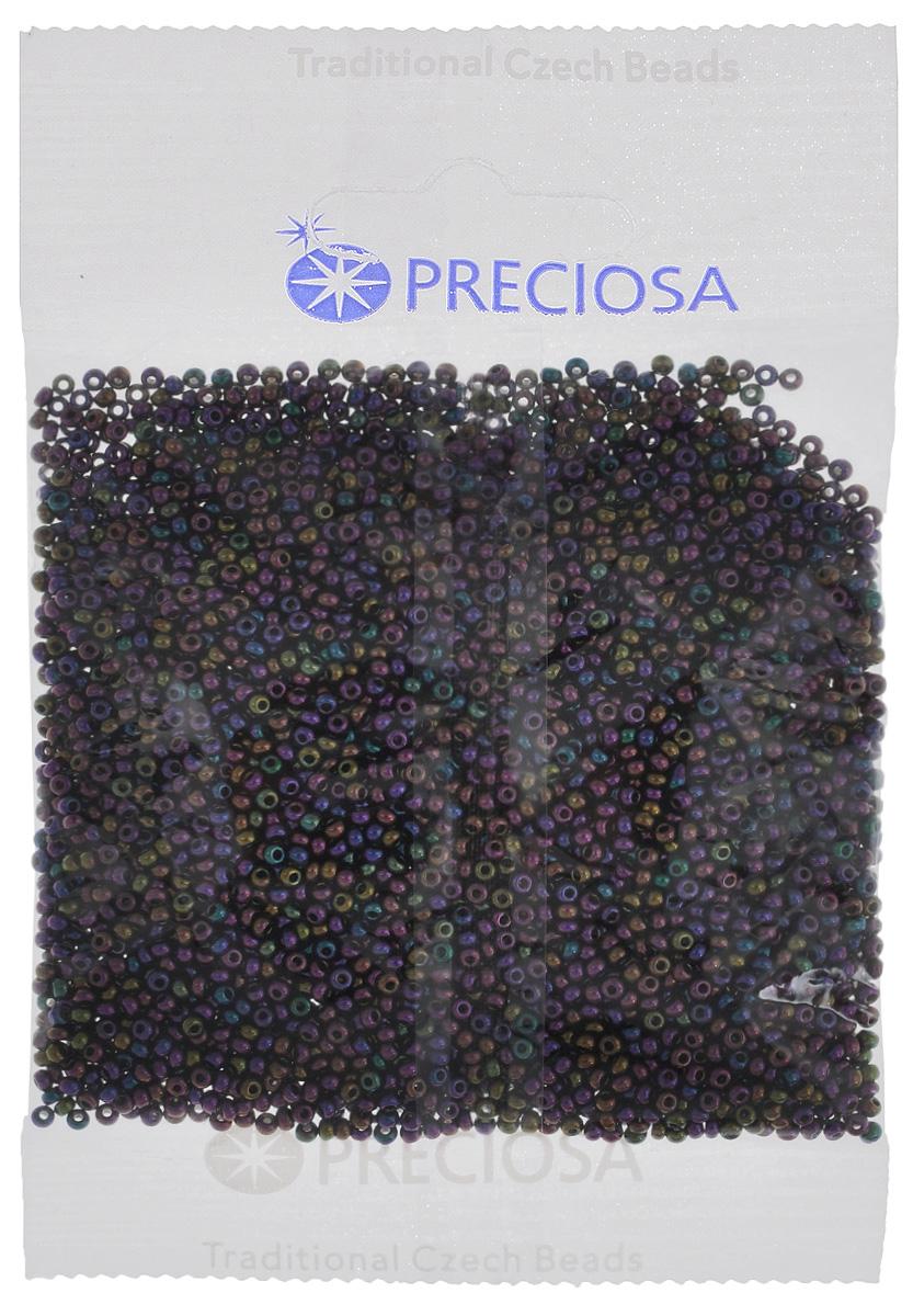 Бисер Preciosa, радужный, цвет: фиолетовый, зеленый, синий (59195), размер 10/0, 50 г7702953Радужный бисер Preciosa, изготовленный из стекла круглой формы, позволит вам своими руками создать оригинальные ожерелья, бусы или браслеты, а также заняться вышиванием. В бисероплетении часто используют бисер разных размеров и цветов. Он идеально подойдет для вышивания на предметах быта и женской одежде. Изготовление украшений - занимательное хобби и реализация творческих способностей рукодельницы, это возможность создания неповторимого индивидуального подарка. Размер бисера: 10/0.