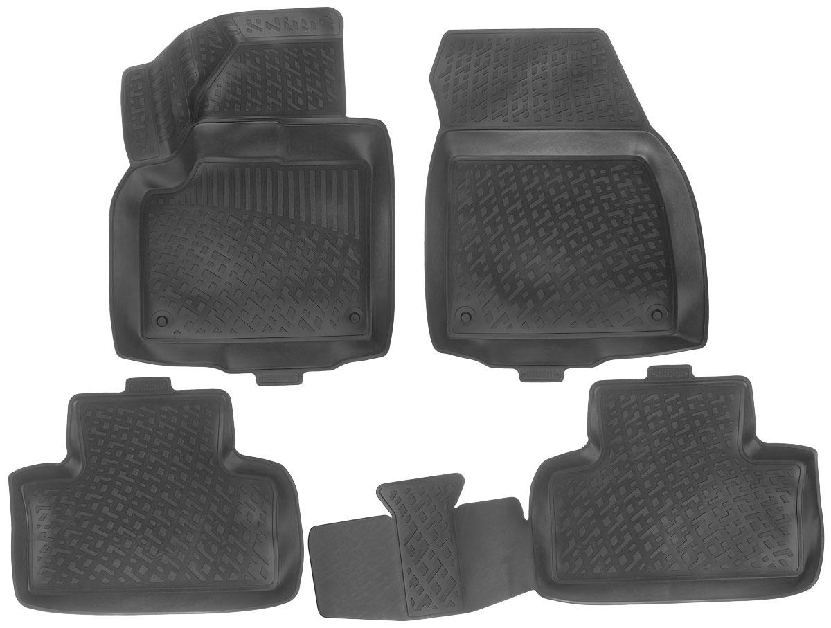 Набор автомобильных ковриков L.Locker Land Rover/Range Rover Evoque 2011, в салон, 4 шт0232020101Набор L.Locker Land Rover/Range Rover Evoque 2011, изготовленный из полиуретана, состоит из 4 ковриков, которые производятся индивидуально для каждой модели автомобиля. Изделие точно повторяет геометрию пола автомобиля, имеет высокий борт, обладает повышенной износоустойчивостью, лишено резкого запаха и сохраняет свои потребительские свойства в широком диапазоне температур от -50°С до +50°С. Комплектация: 4 шт. Размер ковриков: 68 см х 52 см; 54 см х 44 см; 95 см х 44 см; 65 см х 49 см.