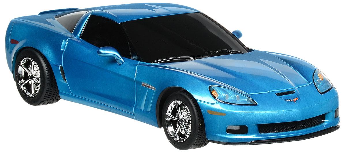 Rastar Радиоуправляемая модель Chevrolet Corvette C6 GS цвет голубой масштаб 1:1853200_голубойРадиоуправляемая модель Rastar Chevrolet Corvette C6 GS станет отличным подарком любому мальчику! Все дети хотят иметь в наборе своих игрушек ослепительные, невероятные и крутые автомобили на радиоуправлении. Тем более, если это автомобиль известной марки с проработкой всех деталей, удивляющий приятным качеством и видом. Одной из таких моделей является автомобиль на радиоуправлении Rastar Chevrolet Corvette C6 GS. Это точная копия настоящего авто в масштабе 1:18. Авто обладает неповторимым провокационным стилем и спортивным характером. Потрясающая маневренность, динамика и покладистость - отличительные качества этой модели. Возможные движения: вперед, назад, вправо, влево, остановка. Пульт управления работает на частоте 27 MHz. Для работы игрушки необходимы 4 батарейки типа АА (не входят в комплект). Для работы пульта управления необходимы 2 батарейки типа АА (не входят в комплект).