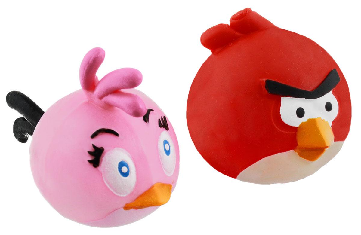 Angry Birds Игрушка-мялка Mashems цвет красный розовый 2 шт50281-0000012-03/1129145Игрушка-мялка Angry Birds Mashems - это антистрессовая игрушка-мялка, выполненная в виде персонажа всеми любимой игры Angry Birds. Игрушка сделана из мягкой резины, внутри которой находится жидкий наполнитель, благодаря чему она легко изменяет форму и структуру при приложении к ней физической силы, а затем принимает первоначальный вид. В набор входят 2 птички-мялки.