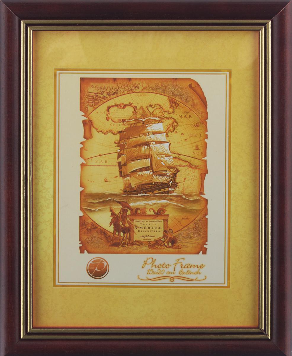 Фоторамка Pioneer Grace, цвет: бордовый, 15 х 20 см6317 190Фоторамка Pioneer Grace выполнена из дерева с золотым тиснением по краю и стекла, защищающего фотографию. Оборотная сторона рамки оснащена специальной ножкой, благодаря которой ее можно поставить на стол или любое другое место в доме или офисе. Также изделие оснащено специальными отверстиями для подвешивания на стену. Такая фоторамка поможет вам оригинально и стильно дополнить интерьер помещения, а также позволит сохранить память о дорогих вам людях и интересных событиях вашей жизни.