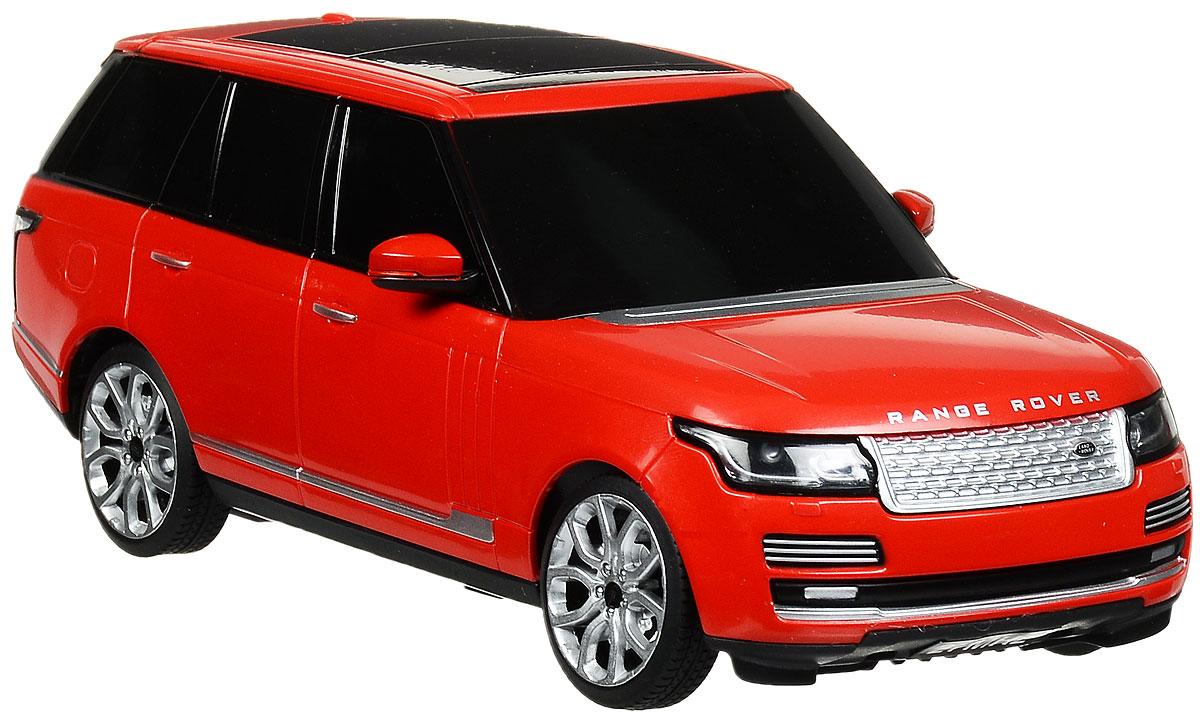 Rastar Радиоуправляемая модель Range Rover цвет красный48500_красныйРадиоуправляемая модель Rastar Range Rover станет отличным подарком любому мальчику! Все дети хотят иметь в наборе своих игрушек ослепительные, невероятные и крутые автомобили на радиоуправлении. Тем более, если это автомобиль известной марки с проработкой всех деталей, удивляющий приятным качеством и видом. Одной из таких моделей является автомобиль на радиоуправлении Rastar Range Rover. Это точная копия настоящего авто в масштабе 1:24. Авто обладает неповторимым провокационным стилем и спортивным характером. Потрясающая маневренность, динамика и покладистость - отличительные качества этой модели. Возможные движения: вперед, назад, вправо, влево, остановка. Имеются световые эффекты. Пульт управления работает на частоте 27 MHz. Для работы игрушки необходимы 3 батарейки типа АА (не входят в комплект). Для работы пульта управления необходимы 2 батарейки типа АА (не входят в комплект).