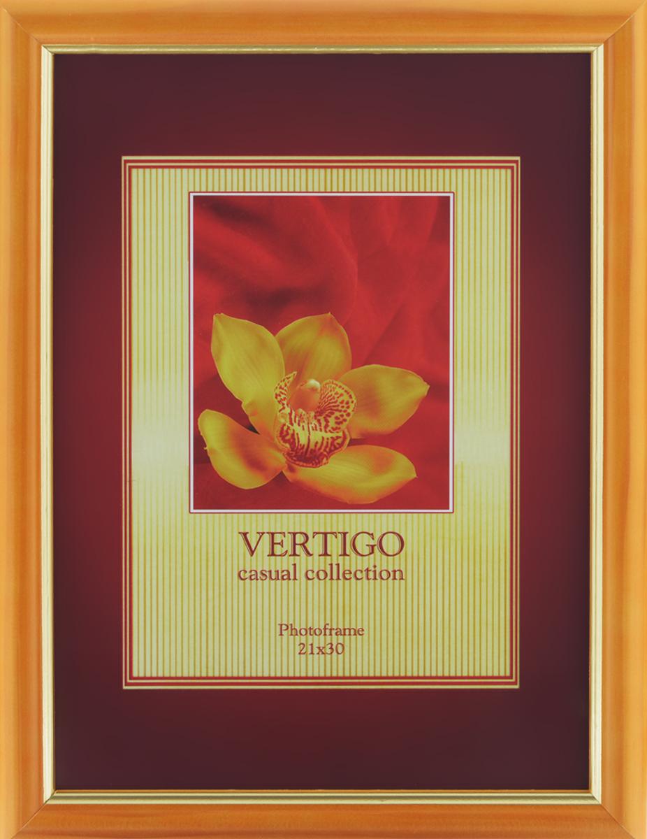 Фоторамка Vertigo Ribera, 21 см х 30 см21097Фоторамка Vertigo Ribera выполнена в классическом стиле из натурального дерева и стекла, защищающего фотографию. На изделии имеется одно специальное крепление для подвешивания. Такая фоторамка поможет вам оригинально и стильно дополнить интерьер помещения, а также позволит сохранить память о дорогих вам людях и интересных событиях вашей жизни. Размер фотографии: 21 см х 30 см.