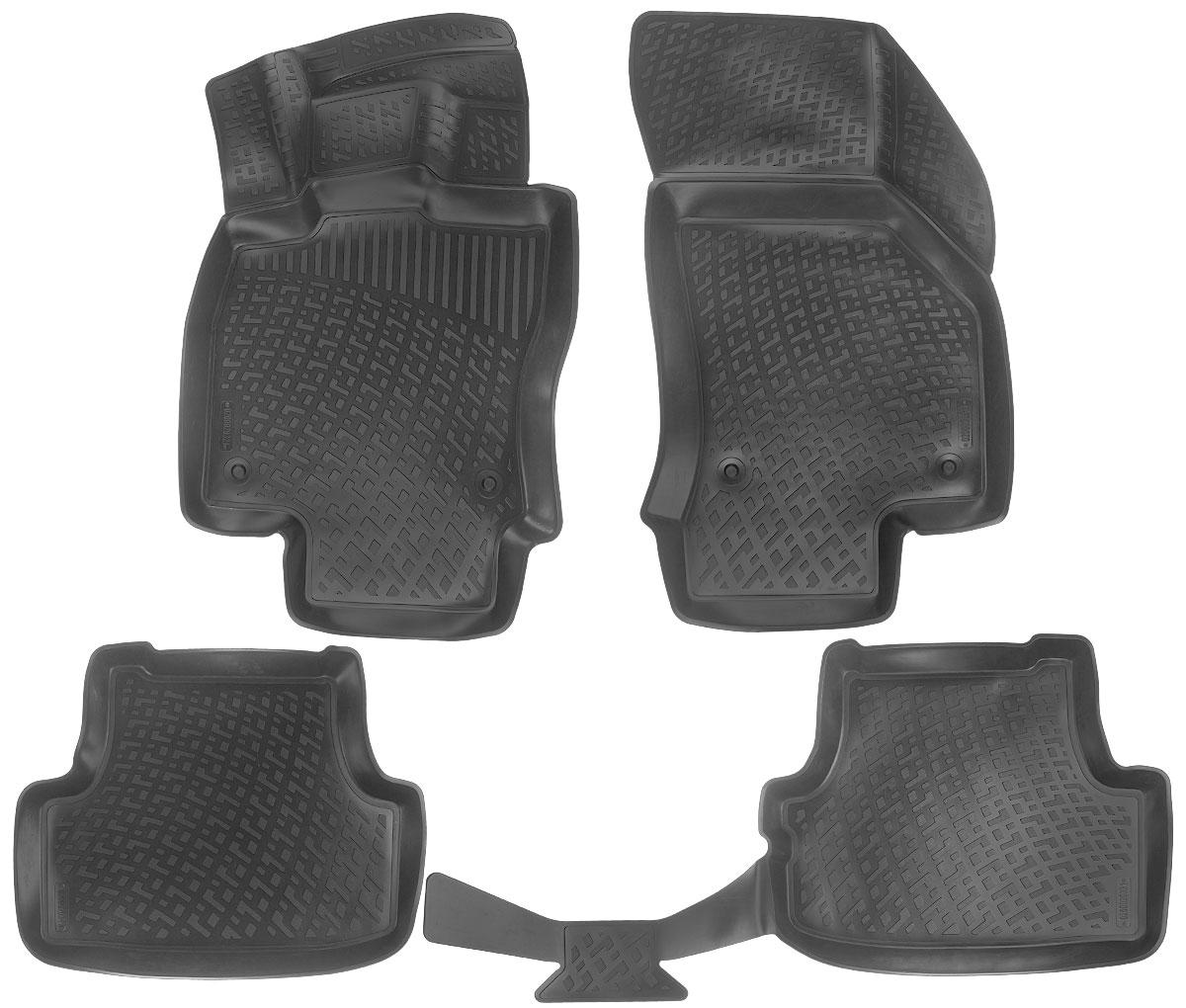 Набор автомобильных ковриков L.Locker Audi A3 (8V) Sportback 2012, в салон, 4 шт0200020301Набор L.Locker Audi A3 (8V) Sportback 2012, изготовленный из полиуретана, состоит из 4 ковриков, которые производятся индивидуально для каждой модели автомобиля. Изделие точно повторяет геометрию пола автомобиля, имеет высокий борт, обладает повышенной износоустойчивостью, лишен резкого запаха и сохраняет свои потребительские свойства в широком диапазоне температур от -50°С до +80°С. В набор входят 7 специальных креплений и инструкция на русском языке по их фиксации. Комплектация: 4 шт. Размер ковриков: 87 см х 55 см; 58 см х 46 см; 106 см х 46 см; 84 см х 51 см.