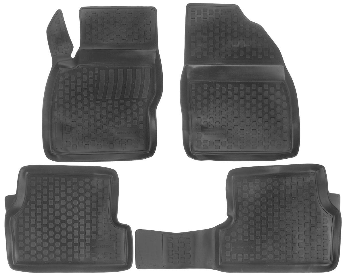 Набор автомобильных ковриков L.Locker Ford Focus (2) 2008, в салон, 4 шт0202020801Набор L.Locker Ford Focus (2) 2008, изготовленный из полиуретана, состоит из 4 ковриков, которые производятся индивидуально для каждой модели автомобиля. Изделие точно повторяет геометрию пола автомобиля, имеет высокий борт, обладает повышенной износоустойчивостью, лишен резкого запаха и сохраняет свои потребительские свойства в широком диапазоне температур от -50°С до +80°С. Комплектация: 4 шт. Размер ковриков: 69 см х 50 см; 56 см х 47 см; 48 см х 91 см; 69см х 51 см.