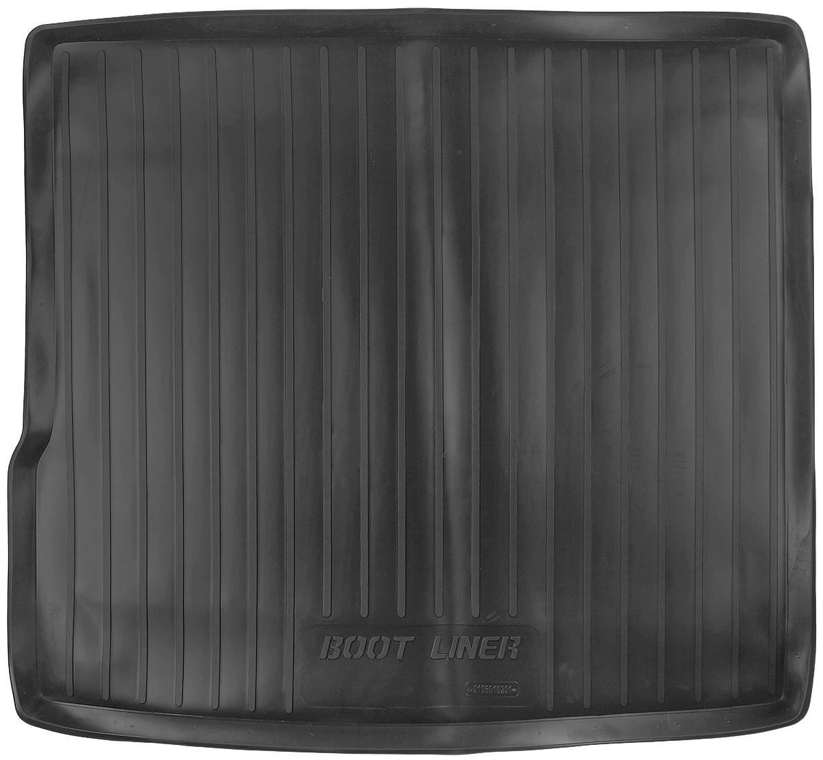 Коврик в багажник L.Locker, для Renault Duster 2WD (10-)0106010201Коврик L.Locker производится индивидуально для каждой модели автомобиля из современного и экологически чистого материала. Изделие точно повторяет геометрию пола автомобиля, имеет высокий борт, обладает повышенной износоустойчивостью, антискользящими свойствами, лишен резкого запаха и сохраняет свои потребительские свойства в широком диапазоне температур (от -50°С до +80°С).