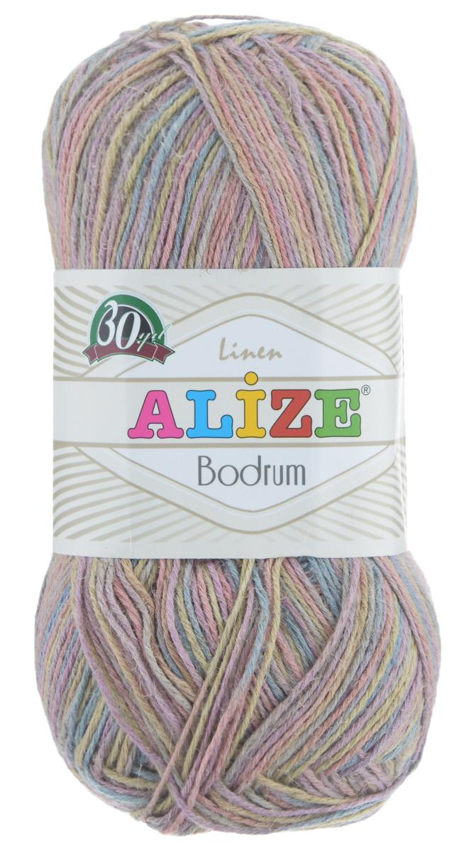 Пряжа для вязания Alize Bodrum, цвет: розовый, желтый, голубой (51421), 280 м, 100 г, 5 шт697547_51421Пряжа для вязания Alize Bodrum с натуральной цветовой гаммой подходит для ручного вязания детям и взрослым. Приятная на ощупь нить сочетает в себе лен и полиэстер. Такая пряжа идеально подойдет для вязания весенних и летних изделий. Рекомендованные спицы 3-5 мм и крючок для вязания 2-3 мм. Состав: 48% лен, 52% полиэстер. Рекомендована ручная стирка.