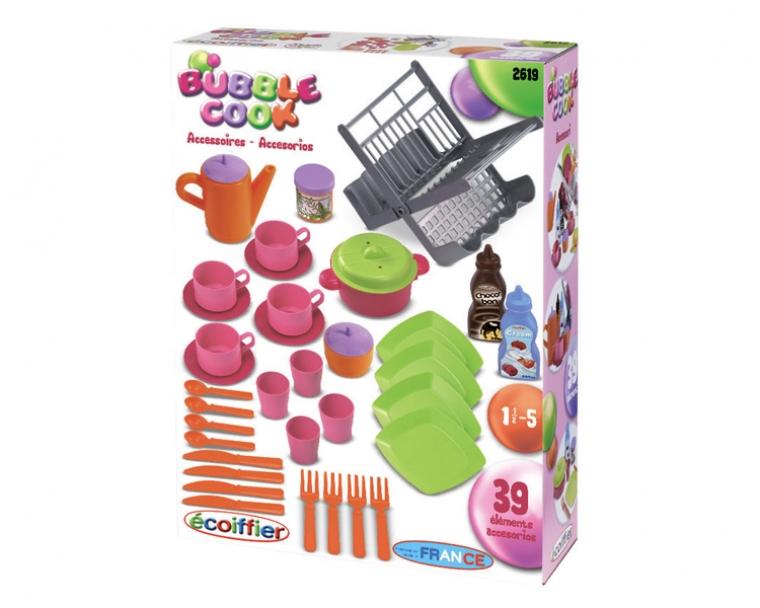 Ecoiffier Игровой набор Сушилка для посуды2619Внимание! Возможно проглатывание мелких деталей.Пользоваться только под непосредственным контролем взрослых с соблюдением необходимой предосторожности. Не обеспечивает защиты при несчастном случае.
