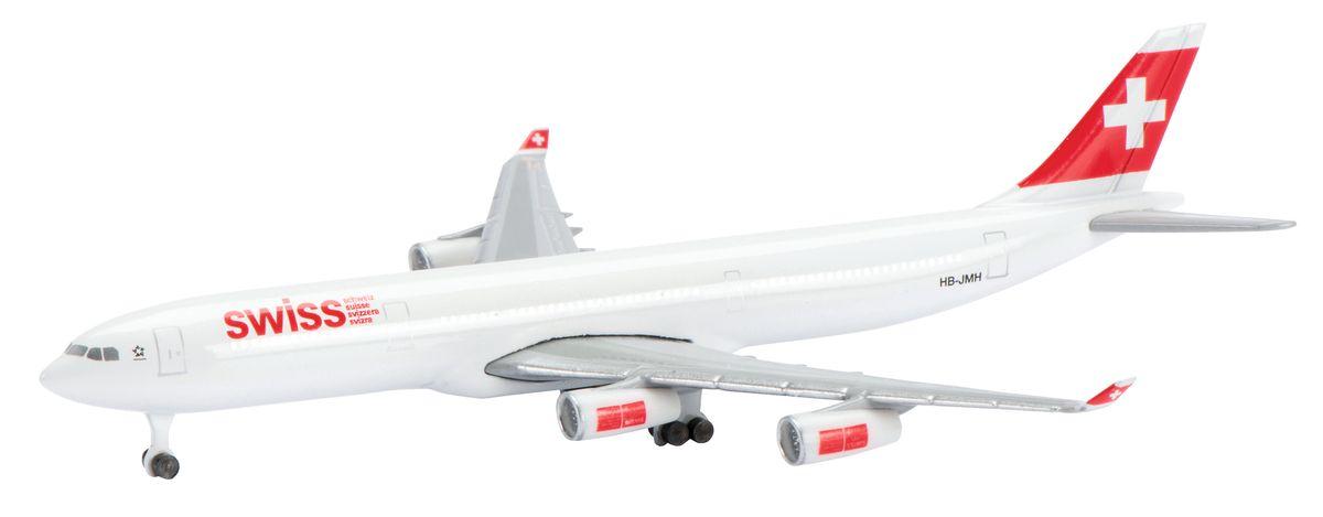 Schuco Коллекционная модель самолета Airbus A340-300 Swiss Air