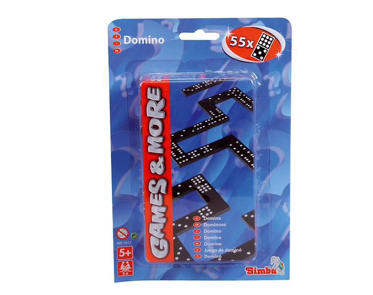 Simba Настольная игра домино6051612Внимание! Возможно проглатывание мелких деталей.Пользоваться только под непосредственным контролем взрослых с соблюдением необходимой предосторожности. Не обеспечивает защиты при несчастном случае.