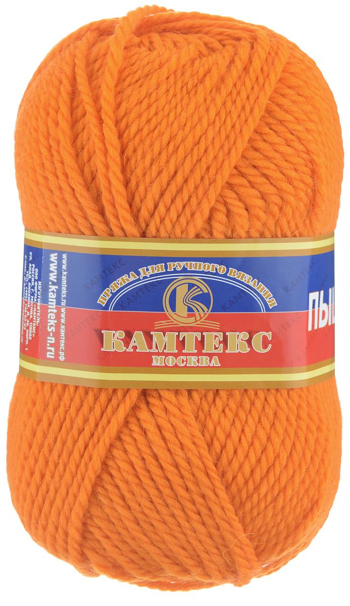 Пряжа для вязания Камтекс Пышка, цвет: оранжевый (035), 110 м, 100 г, 10 шт136080_035Пряжа для вязания Камтекс Пышка изготовлена из 100% импортной шерсти. Пряжа очень толстая и теплая, хорошо подходит для вязания верхней одежды, делает узоры фактурными и выразительными. Готовые изделия имеют богатый внешний вид, красивую структуру трикотажа. Идеальна для вязания пальто, шапок, шарфов, пледов. Рекомендуемые для вязания спицы и крючки 3-5 мм. Состав: 100% импортная шерсть. Комплектация: 10 шт. Толщина нити: 3 мм.