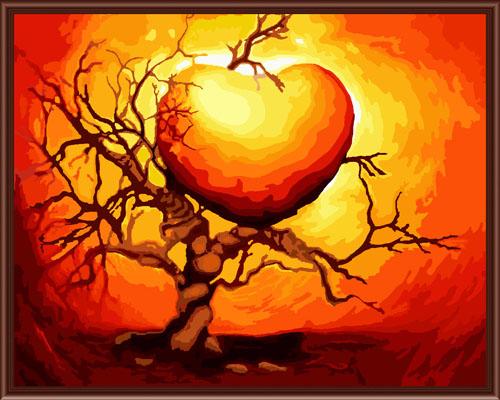 Набор для рисования по номерам Палитра Сердце на закате, 40 см х 50 см7707562Набор для рисования по номерам Палитра Сердце на закате поможет создать красивую картину. Подходит новичкам, любителям и даже тем, кто совершенно не умеет рисовать. С помощью такого набора вы можете стать настоящим художником и создателем прекрасных картин. Вы получите истинное удовольствие от погружения в процесс творчества, а созданные своими руками картины, украсят интерьер вашего дома или станут прекрасным подарком. Техника раскрашивания на холсте по номерам дает возможность легко рисовать даже сложные сюжеты. Прекрасно развивает художественный вкус, аккуратность и внимание. Каждая краска в наборе имеет свой номер, соответствующий номеру области на холсте. Нужно только аккуратно нанести необходимую краску на отмеченный для нее участок. Таким образом, шаг за шагом у вас получится великолепная картина. В набор входит: - подготовленный загрунтованный холст, натянутый на деревянный подрамник; - акриловые краски (27 цветов); -...