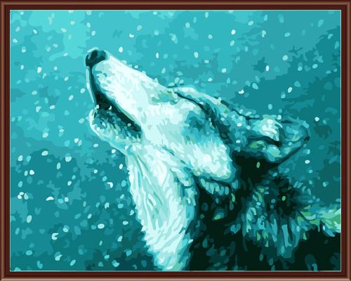 Набор для рисования по номерам Палитра Волк зимой, 40 см х 50 см7707575Набор для рисования по номерам Палитра Волк зимой поможет создать красивую картину. Подходит новичкам, любителям и даже тем, кто совершенно не умеет рисовать. С помощью такого набора вы можете стать настоящим художником и создателем прекрасных картин. Вы получите истинное удовольствие от погружения в процесс творчества, а созданные своими руками картины, украсят интерьер вашего дома или станут прекрасным подарком. Техника раскрашивания на холсте по номерам дает возможность легко рисовать даже сложные сюжеты. Прекрасно развивает художественный вкус, аккуратность и внимание. Каждая краска в наборе имеет свой номер, соответствующий номеру области на холсте. Нужно только аккуратно нанести необходимую краску на отмеченный для нее участок. Таким образом, шаг за шагом у вас получится великолепная картина. В набор входит: - подготовленный загрунтованный холст, натянутый на деревянный подрамник; - акриловые краски (16 цветов); - 3...