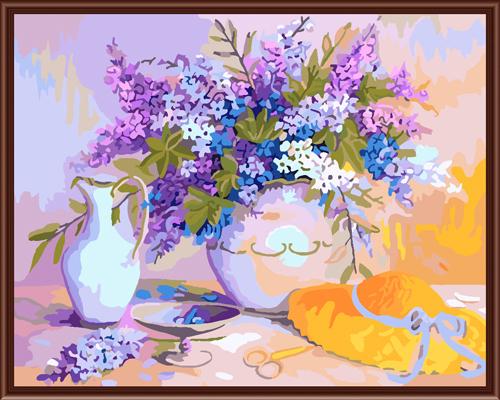 Набор для рисования по номерам Палитра Цветы в вазе, 50 см х 65 см7707603Набор для рисования по номерам Палитра Цветы в вазе поможет создать красивую картину. Подходит новичкам, любителям и даже тем, кто совершенно не умеет рисовать. С помощью такого набора вы можете стать настоящим художником и создателем прекрасных картин. Вы получите истинное удовольствие от погружения в процесс творчества, а созданные своими руками картины, украсят интерьер вашего дома или станут прекрасным подарком. Техника раскрашивания на холсте по номерам дает возможность легко рисовать даже сложные сюжеты. Прекрасно развивает художественный вкус, аккуратность и внимание. Каждая краска в наборе имеет свой номер, соответствующий номеру области на холсте. Нужно только аккуратно нанести необходимую краску на отмеченный для нее участок. Таким образом, шаг за шагом у вас получится великолепная картина. В набор входит: - подготовленный загрунтованный холст, натянутый на деревянный подрамник; - акриловые краски (35 цветов); - 3...