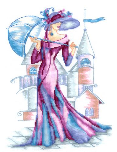 Набор для вышивания крестом Пурпурный шелк, 22 см х 29 см580697Набор для вышивания Пурпурный шелк поможет вам создать свой личный шедевр - красивую и изысканную во все времена картину , вышитую нитками мулине в технике счетный крест. Работа, выполненная своими руками, станет отличным подарком для друзей и близких! В набор входит: - канва Aida Bestex 14 (белого цвета); - мулине (хлопок): 24 цвета; - цветная схема; - инструкция на русском языке; - игла.