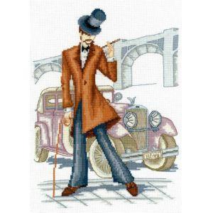 Набор для вышивания крестом Модное авто, 24 х 33 см581388Набор для вышивания Модное авто поможет вам создать свой личный шедевр - красивую и изысканную во все времена картину , вышитую нитками мулине в технике счетный крест. Работа, выполненная своими руками, станет отличным подарком для друзей и близких! В набор входит: - канва Aida Bestex 14 (белого цвета); - мулине (хлопок): 26 цветов; - цветная схема; - инструкция на русском языке; - игла.