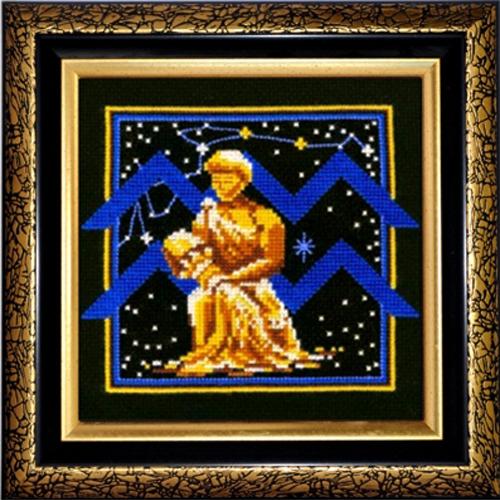 Набор для вышивания крестом Знаки зодиака. Водолей, 16 x 16 см580448Красивый и оригинальный рисунок-вышивка, выполненный на канве, выглядит стильно и всегда модно. Тематика этого набора зодиакальная, она порадует любителей астрологии и гороскопов. В комплекте для вышивания Знаки зодиака. Водолей есть все необходимое для создания собственного чуда. В набор входит: - канва Aida Bestex 14 (черного цвета), - нитки мулине (100% шерсть), - цветная схема вышивки, - игла, - инструкция по вышиванию на русском языке. Работа, сделанная своими руками, создаст особый уют и атмосферу в доме, и долгие годы будет радовать вас и ваших близких. УВАЖАЕМЫЕ КЛИЕНТЫ! Обращаем ваше внимание, на тот факт, что рамка в комплект не входит, а служит для визуального восприятия товара.