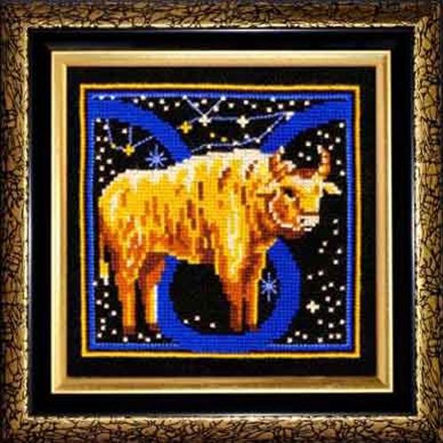 Набор для вышивания крестом Знаки зодиака. Телец, 16 x 16 см580457Красивый и оригинальный рисунок-вышивка, выполненный на канве, выглядит стильно и всегда модно. Тематика этого набора зодиакальная, она порадует любителей астрологии и гороскопов. Работа, сделанная своими руками, создаст особый уют и атмосферу в доме, и долгие годы будет радовать вас и ваших близких. В набор входит: - канва Aida Bestex 14 (черного цвета), - нитки мулине Радуга (100% шерсть), - цветная символьная схема, - игла, - инструкция по вышиванию на русском языке. УВАЖАЕМЫЕ КЛИЕНТЫ! Обращаем ваше внимание, на тот факт, что рамка в комплект не входит, а служит для визуального восприятия товара.