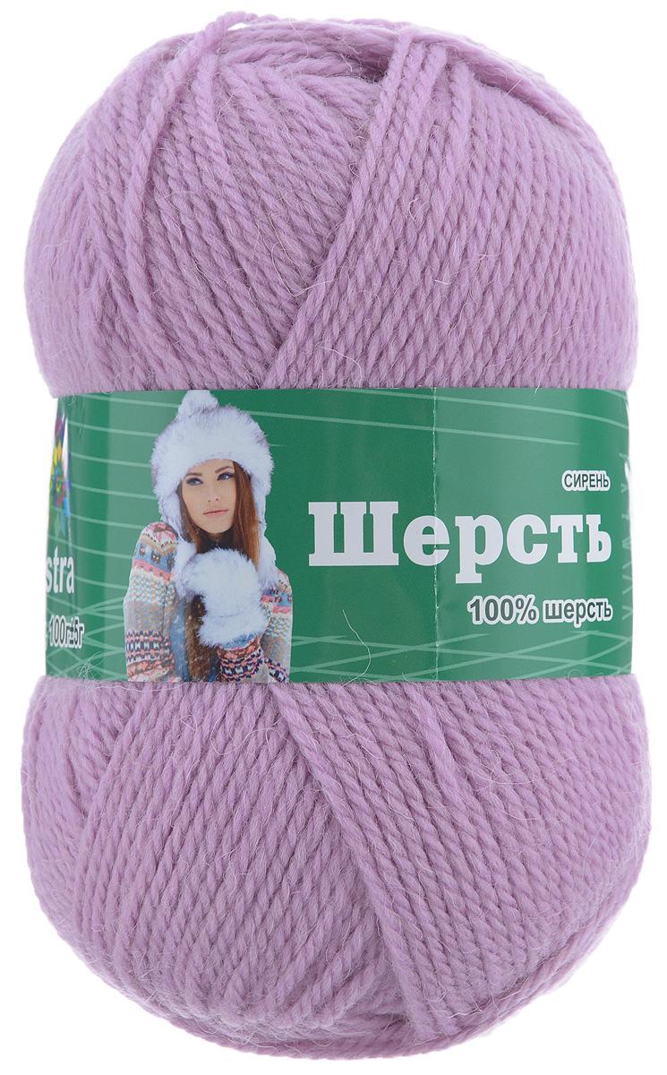 Пряжа для вязания Астра Wool, цвет: сиреневый, 200 м, 100 г, 3 шт488342_сиреньПряжа для вязания Астра Wool изготовлена из мягкой и высококачественной натуральной шерсти. Из нее получается тонкий, но очень теплый трикотаж. Шерстяное волокно имеет высокую упругость, поэтому хорошо держит форму, обладает превосходными гигиеническими свойствами: имеет высокую гигроскопичность и отводит влагу от тела. Рекомендуемые для вязания спицы: 3-5 мм. Рекомендуемый для вязания крючок: 3-5 мм. Состав: 100% шерсть.