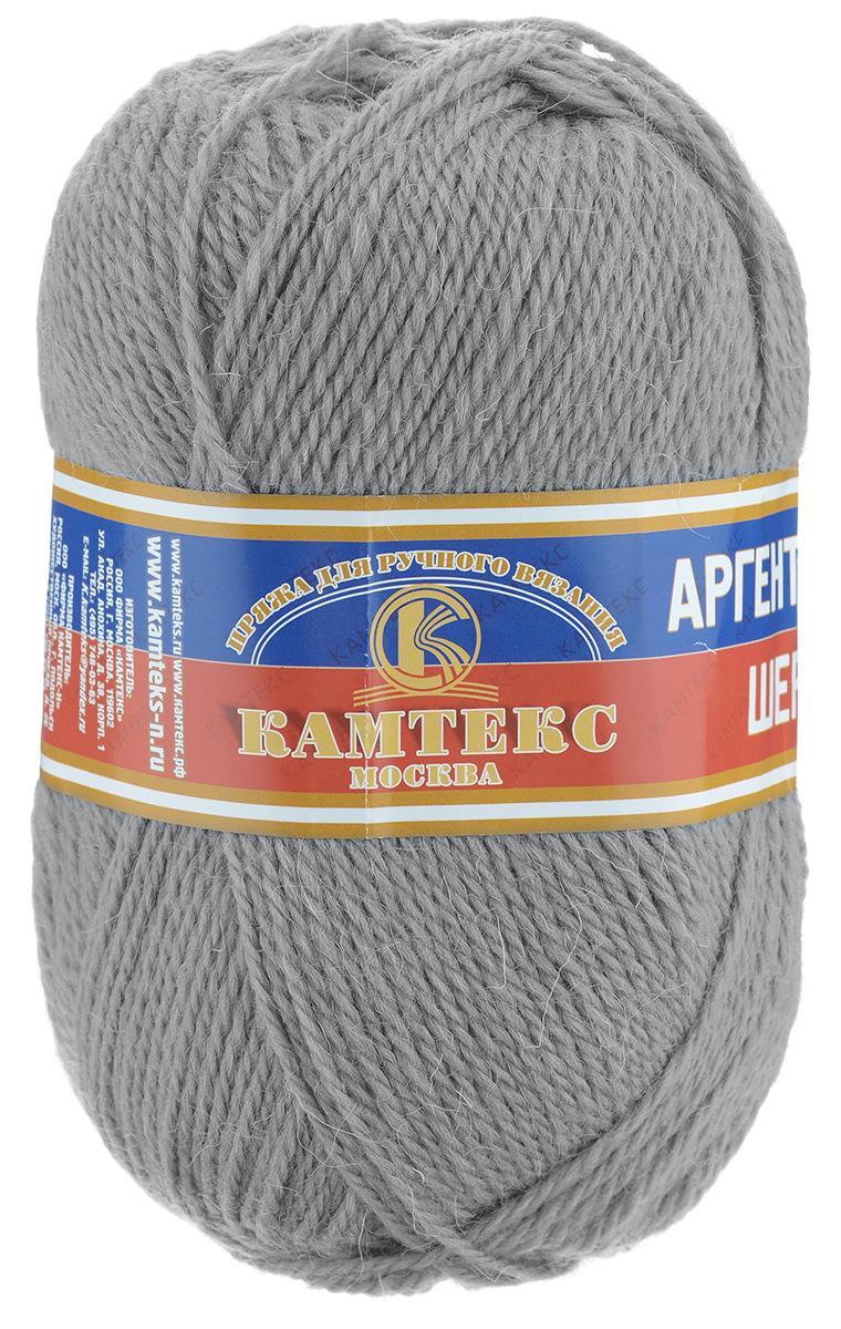 Пряжа для вязания Камтекс Аргентинская шерсть, цвет: серый (169), 200 м, 100 г, 10 шт136071_169Пряжа для вязания Камтекс Аргентинская шерсть - это стопроцентная импортная шерсть, которая отличается прочностью и гладкостью. Даже при взгляде на моток, сразу видно, что вещи из этой пряжи будут выглядеть дорого. Изделия не скатываются и не деформируются. Пряжа очень легка в работе, даже при роспуске полотна, она не цепляется, и не путается. Ниточка безумно теплая и уютная, отлично подходит для нашей морозной зимы. Даже ажурные шапки и шарфы при всей своей тонкости будут самыми надежными защитниками от снега и сильного ветра. Очень хорошо смотрятся из этой шерсти узоры из кос и жгутов. Рекомендуются спицы и крючки для вязания 3-5 мм. Состав: 100% шерсть.