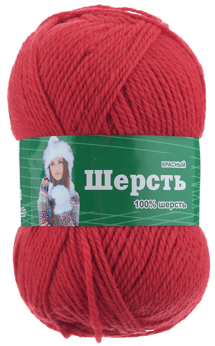 Шерстяная пряжа для вязания цвета
