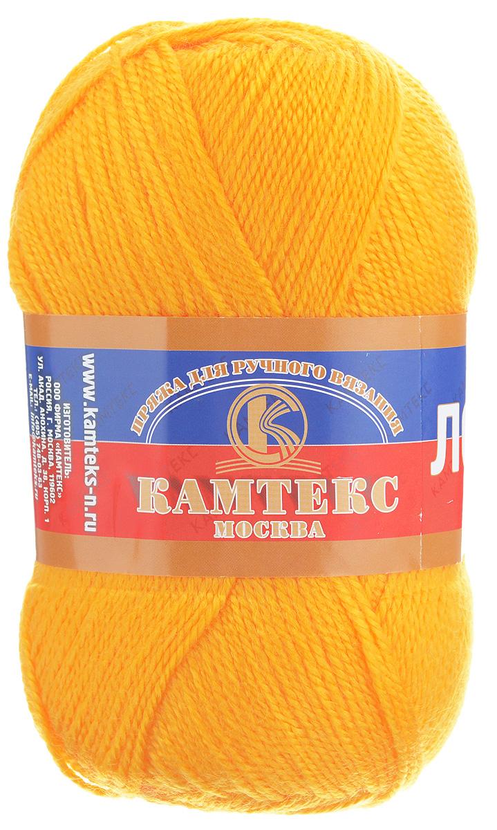 Пряжа для вязания Камтекс Лотос, цвет: желтый (104), 300 м, 100 г, 10 шт136083_104Пряжа для вязания Камтекс Лотос изготовлена из 100% акрила. Пряжа имеет приятную мягкость, вяжется очень легко, совершенно не путаясь. По своим свойствам акриловая нить близка к шерсти. Только, в отличие от шерсти, она приятна для тела, совсем не колется. Существует вероятность, что изделие может слегка растянуться, но этого можно избежать деликатным обращением и плотной вязкой. Пряжа Лотос - идеальный вариант для вязания демисезонных головных уборов, жакетов, свитеров, болеро. Изделие имеет приятный благородный блеск. Рекомендуемые для вязания спицы и крючки 3-5 мм. Состав: 100% акрил. Комплектация: 10 шт. Толщина нити: 1,5 мм.