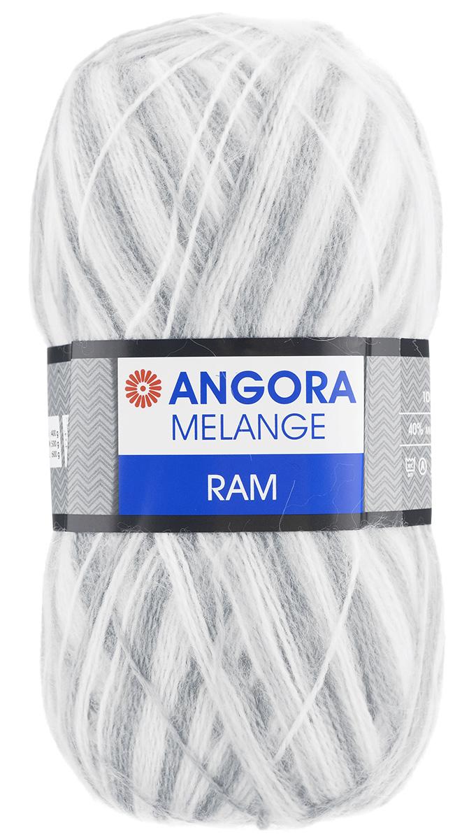 Пряжа для вязания YarnArt Angora Ram. Melange, цвет: белый, светло-серый (716), 500 м, 100 г, 5 шт486194_716Пряжа для вязания YarnArt Angora Ram. Melange состоит из 40% мохера и 60% акрила. Такая пряжа подойдет для вязки шарфов, шапок, свитеров и другой теплой одежды. Пряжа приятная на ощупь, изделия из нее получаются мягкие, теплые и приятные к телу. Стирка при температуре не более 30°С. Рекомендованные для вязания спицы 4 мм. Состав: 40% мохер, 60% акрил.