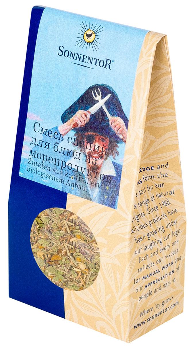 Sonnentor: Смесь специй для блюд из морепродуктов, 25 г