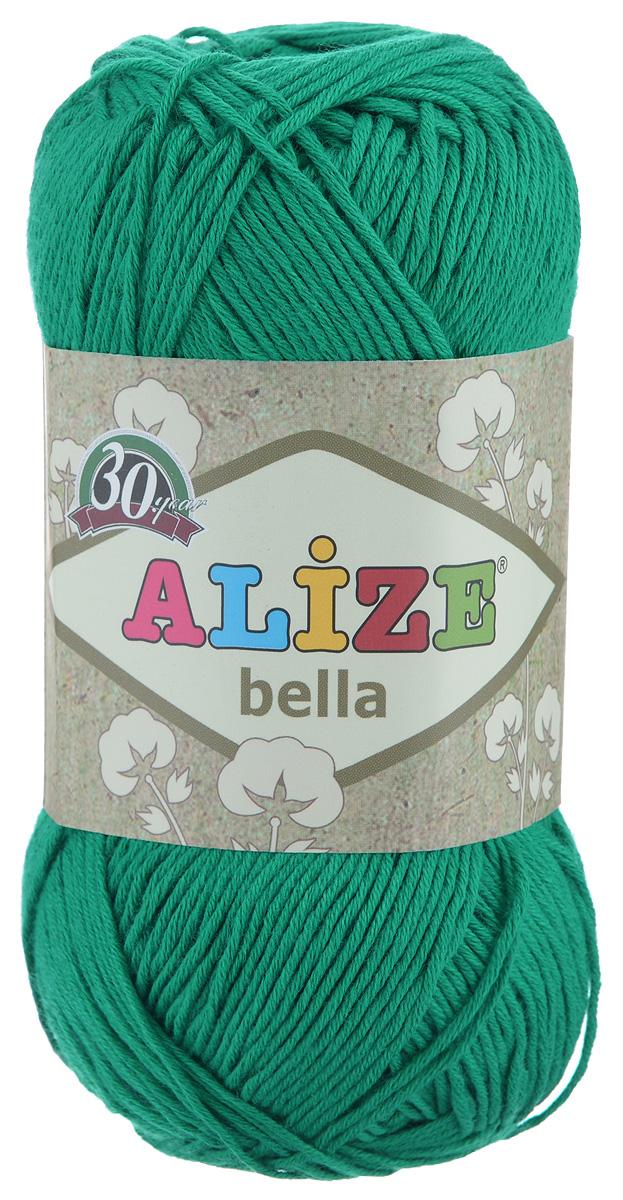 Пряжа для вязания Alize Bella, цвет: ярко-зеленый (20), 180 м, 50 г, 5 шт - Alize364124_20Пряжа Alize Bella подходит для ручного вязания детям и взрослым. Пряжа однотонная, приятная на ощупь, хорошо лежит в полотне. Изделия из такой нити получаются мягкие и красивые. Рекомендованные спицы 2-4 мм и крючок для вязания 1-3 мм. Комплектация: 5 мотков. Состав: 100% хлопок.