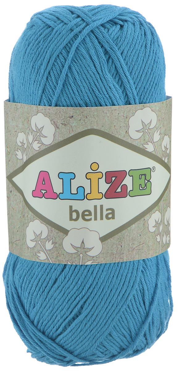 Пряжа для вязания Alize Bella, цвет: ярко-голубой (387), 180 м, 50 г, 5 шт364124_387Пряжа Alize Bella подходит для ручного вязания детям и взрослым. Пряжа однотонная, приятная на ощупь, хорошо лежит в полотне. Изделия из такой нити получаются мягкие и красивые. Рекомендованные спицы 2-4 мм и крючок для вязания 1-3 мм. Комплектация: 5 мотков. Состав: 100% хлопок.