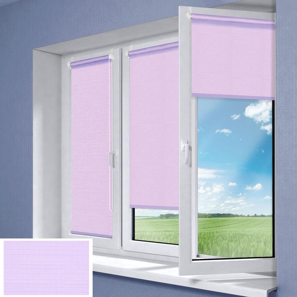Штора рулонная Миниролло, 83х170см, тканевые, цвет: фиолетовый3083007Рулонная штора Миниролло выполнена из высокопрочной ткани, которая сохраняет свой размер даже при намокании. Ткань не выцветает и обладает отличной цветоустойчивостью. Миниролло - это подвид рулонных штор, который закрывает не весь оконный проем, а непосредственно само стекло. Такие шторы крепятся на раму без сверления при помощи зажимов или клейкой двухсторонней ленты. Окно остается на гарантии, благодаря монтажу без сверления. Такая штора станет прекрасным элементом декора окна и гармонично впишется в интерьер любого помещения.