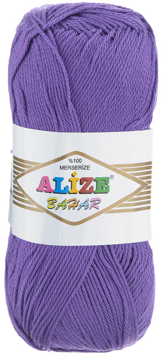 Пряжа для вязания Alize Bahar, цвет: фиолетовый (44), 260 м, 100 г, 5 шт364089_44Пряжа Alize Bahar подходит для ручного вязания детям и взрослым. Пряжа однотонная, приятная на ощупь, хорошо лежит в полотне. Изделия из такой нити получаются мягкие и красивые. Рекомендованные спицы 3-5 мм и крючок для вязания 2-4 мм. Комплектация: 5 мотков. Состав: 100% хлопок.