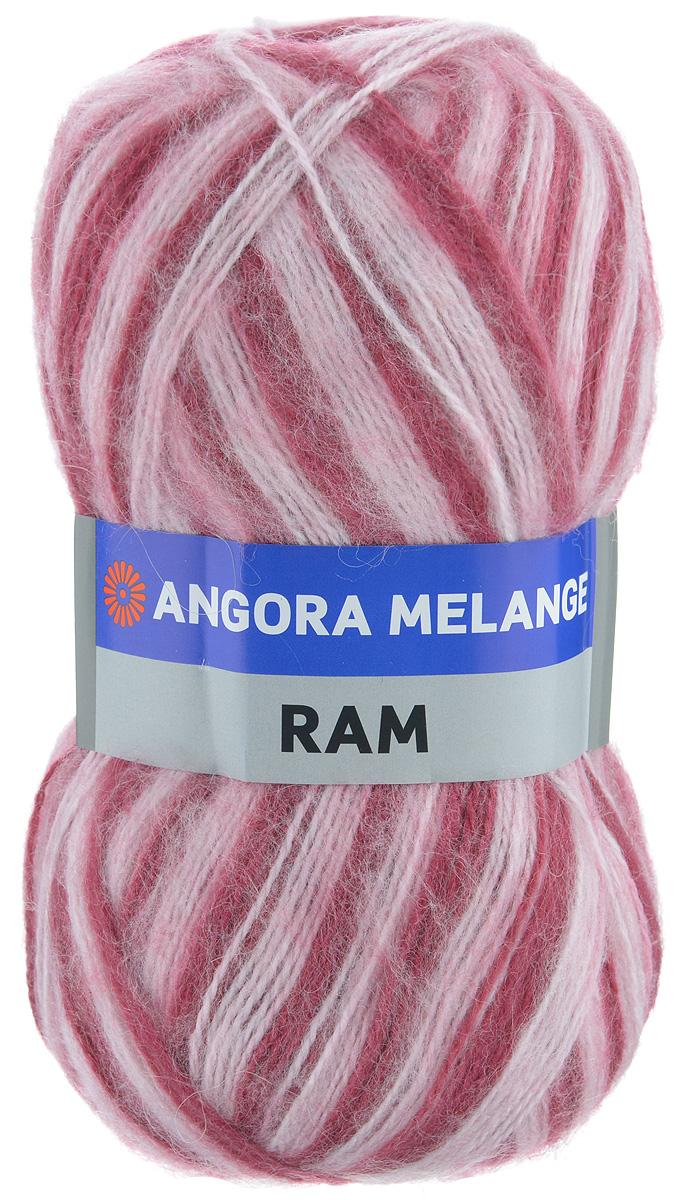 Пряжа для вязания YarnArt Angora Ram. Melange, цвет: белый, малиновый (722), 500 м, 100 г, 5 шт486194_722Пряжа для вязания YarnArt Angora Ram. Melange состоит из 40% мохера и 60% акрила. Такая пряжа подойдет для вязки шарфов, шапок, свитеров и другой теплой одежды. Пряжа приятная на ощупь, изделия из нее получаются мягкие, теплые и приятные к телу. Стирка при температуре не более 30°С. Рекомендованные для вязания спицы 4 мм. Состав: 40% мохер, 60% акрил.