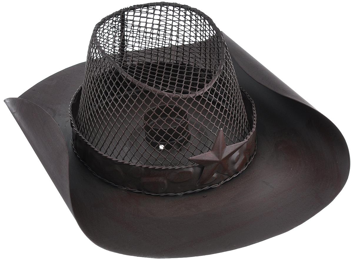 Подсвечник декоративный Феникс-презент Шляпа, 33,5 см х 25 см16449Декоративный подсвечник Феникс-презент Шляпа, изготовленный из черного металла, станет прекрасным выбором для тех, кто хочет сделать запоминающийся подарок родным и близким. Изделие выполнено в виде шляпы и и предназначено для одной свечи (свеча в комплект не входит). Кроме того, подсвечник может хорошо вписаться в интерьер вашего дома или дачи. Диаметр отверстия для свечи: 4,3 см.
