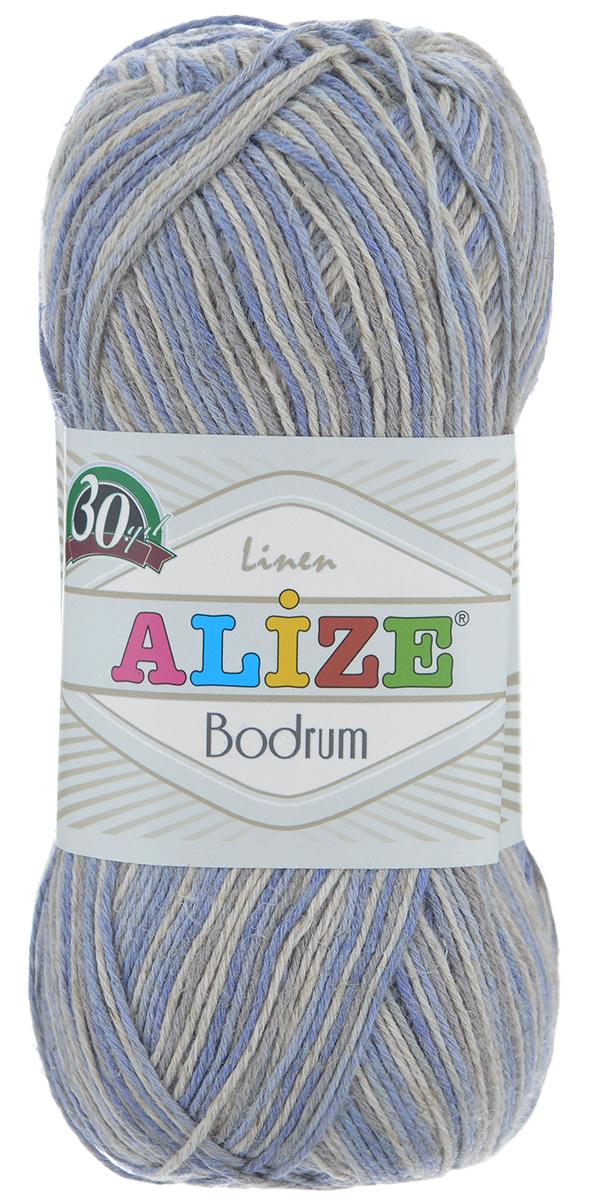 Пряжа для вязания Alize Bodrum, цвет: льняной, голубой (51415), 280 м, 100 г, 5 шт697547_51415Пряжа для вязания Alize Bodrum с натуральной цветовой гаммой подходит для ручного вязания детям и взрослым. Приятная на ощупь нить сочетает в себе лен и полиэстер. Такая пряжа идеально подойдет для вязания весенних и летних изделий. Рекомендованные спицы 3-5 мм и крючок для вязания 2-3 мм. Комплектация: 5 мотков. Состав: 48% лен, 52% полиэстер. Рекомендована ручная стирка.