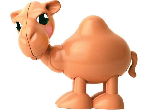 Tolo FF Фигурка Верблюд86577Фигурки с вращающими и клацающими деталями без упаковки. Идеально подходит для ролевой игры и развития воображения.