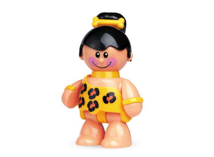 Tolo FF Фигурка Пещерная девочка87351Фигурки с вращающими и клацающими деталями без упаковки. Идеально подходит для ролевой игры и развития воображения.