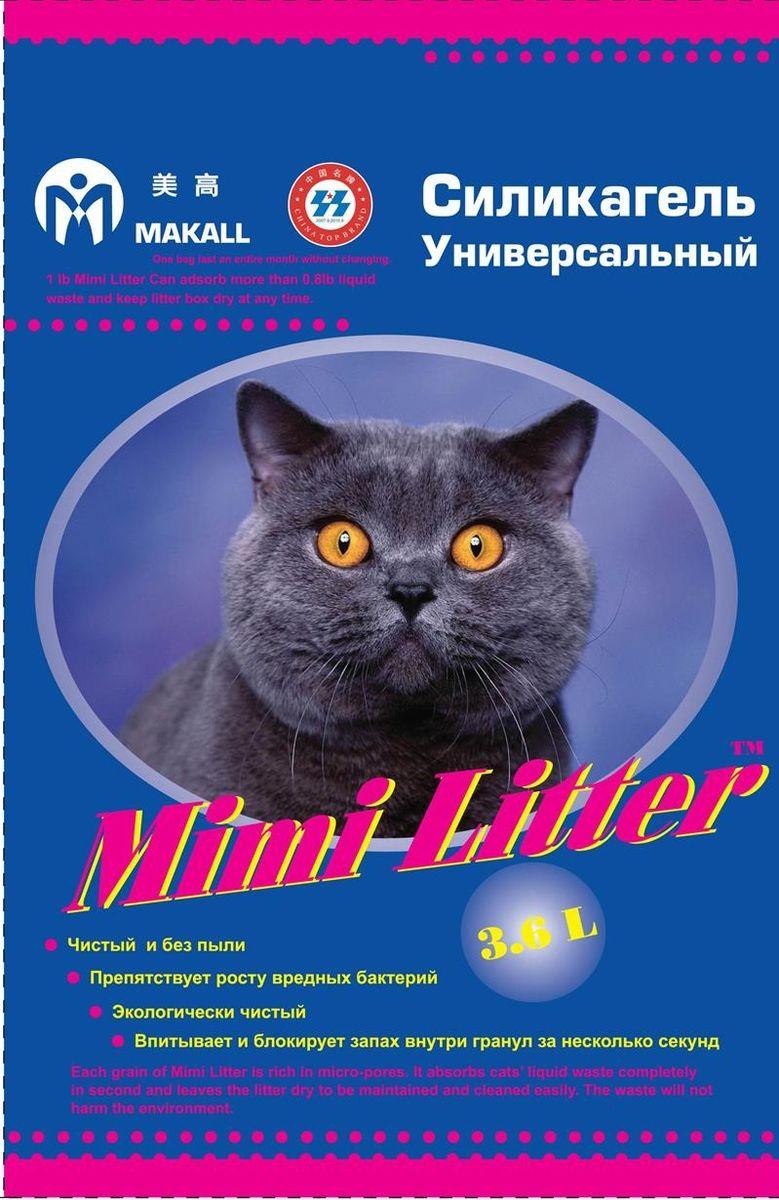 Mimi Litter Наполнитель силикагелевый для кошачьего туалета 3,6 л (1,81кг)