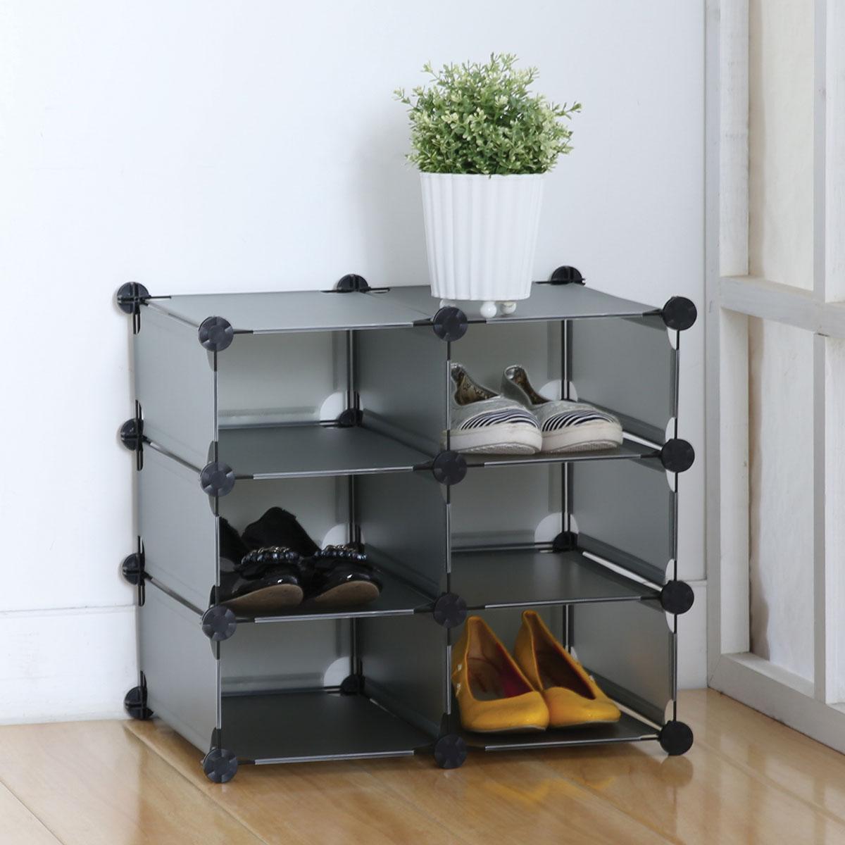 Стеллаж Miolla, 6 модулей, 49 х 33 х 44,5 смKBS-26Универсальный стеллаж Miolla состоит из 6 модулей, изготовлен из пластика. Такой стеллаж можно разместить где угодно: в ванной, в спальне, в прихожей. Благодаря стильному дизайну и компактному размеру, стеллаж займет достойное место в любом уголке дома. Размер стеллажа: 49 см х 33 см х 44,5 см.